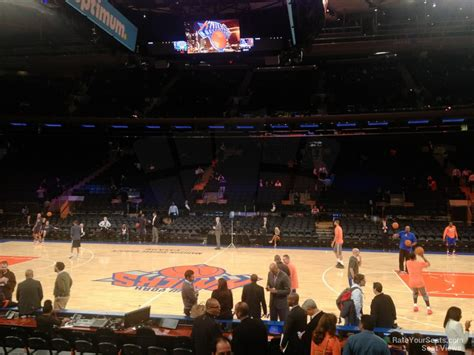 Msg Section 107 by Square Garden Section 107 New York Knicks