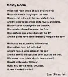 Floor Lamp For Kids Room by Messy Room Poem By Shel Silverstein Poem Hunter