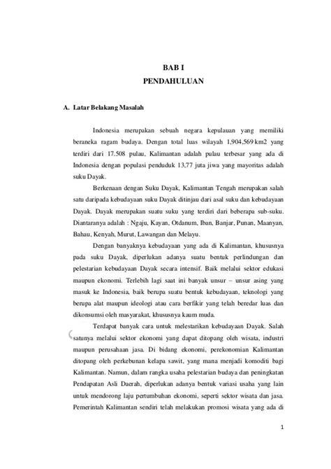 Peningkatan PAD Kalimantan Tengah