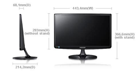 Dan Spesifikasi Monitor Gaming harga dan spesifikasi led monitor samsung s19a100n techno live