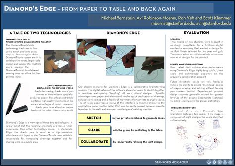poster design report papertoolkit hci at stanford university