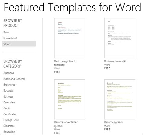 office document templates use an template to create documents word