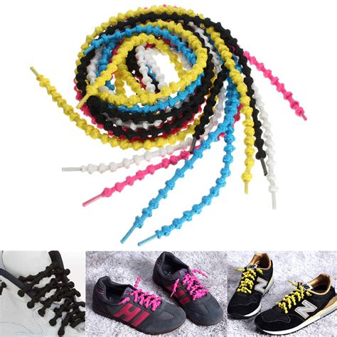 no tie laces running shoes 1 pair elastic knotted no tie triathlon running sport shoe
