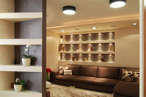 Wall Shelf Ideas For Living Room by Wall Shelf Ideas Living Room Modern With Accent Wall Area