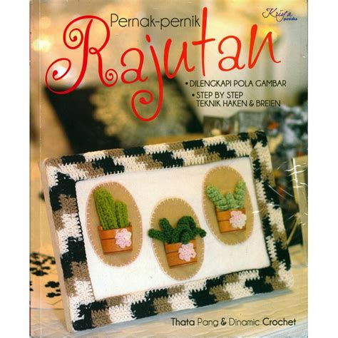 Pola Tas Rajut Behel buku pernak pernik rajutan crafts