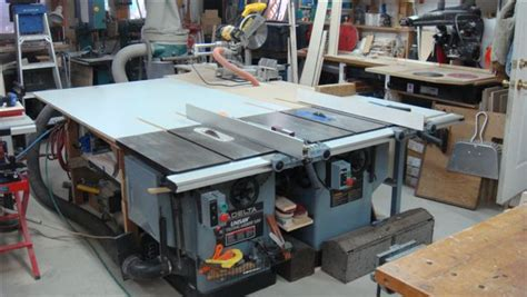 Twin Tablesaw Setups