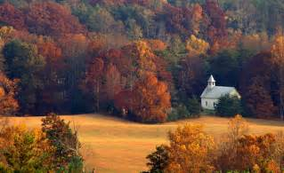 Cades cove methodist church great smoky mountains national