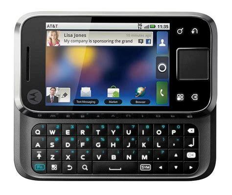 unlocked gsm android phones motorola flipside mb508 at t unlocked gsm android cell phone black 8038966694188 ebay