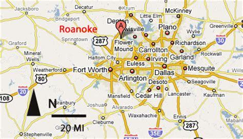 roanoke texas map sighting reports 2006