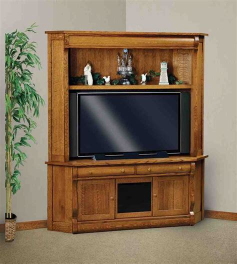 Corner Television Armoire by Corner Tv Armoire For Flat Screens Home Furniture Design