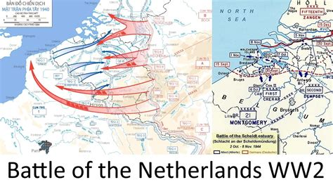 map netherlands during ww2 the battle of the netherlands 1940 ww2 every hour