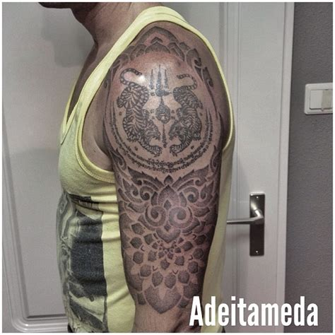 indonesian tattoo design thai mantra indonesian ornament tattoo by him
