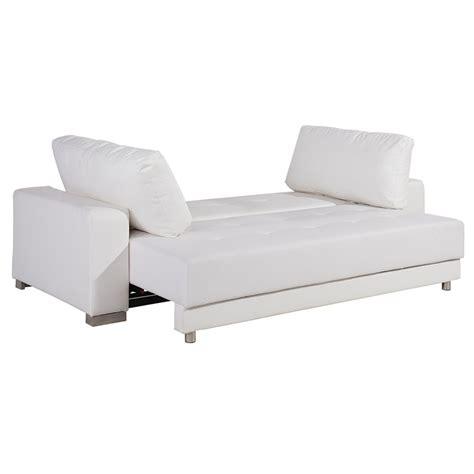 modern sofas caustic modern white sofa sleeper eurway