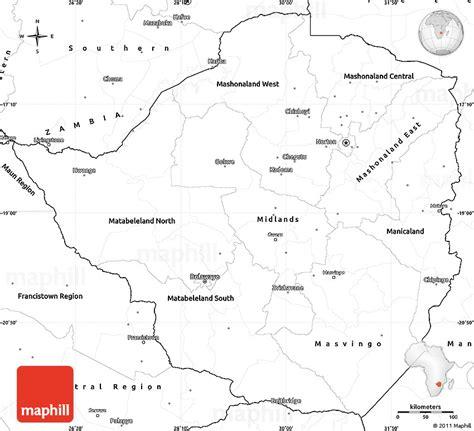 printable map of zimbabwe in africa geography blog zimbabwe outline maps