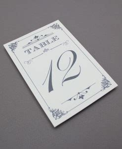 Table Number Download Print When We Were Table Numbers Template