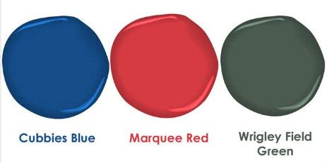 chicago cubs colors paint color collections interiors by color 13 interior