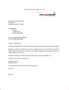 appeal letter to insurance company sample best photos of