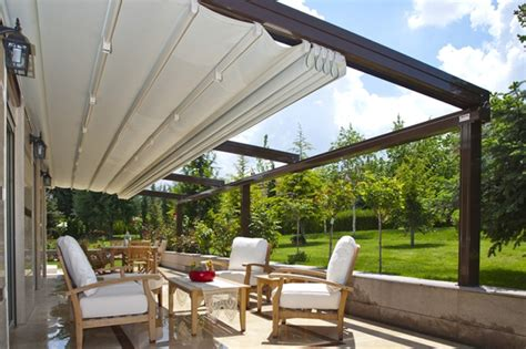 Douglas Auto Marine Upholstery Suntech Retractable Outdoor Blinds For Pergola