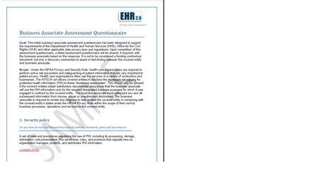 baa agreement template hipaa compliance assessment and toolkit hitech compliance