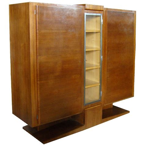 cabinet armoire french art deco rosewood cabinet or armoire for sale at