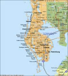 map of pinellas county