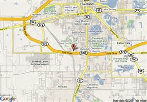 lakeland florida maps map of courtyard by marriott lakeland lakeland