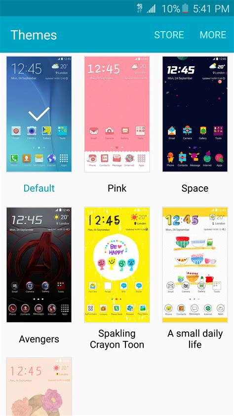 themes for samsung galaxy samsung will make creating and sharing original galaxy s6