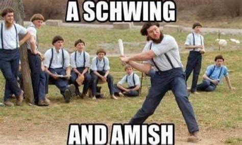 swing and a miss armish swing and a miss crazy as a bag of hammers