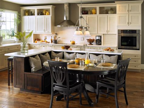 island with bench seating kitchen bench ideas built in kitchen island with seating