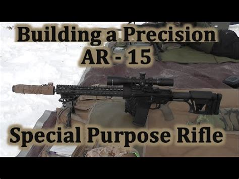 building a precision ar 15 spr accuracy at 1000 yards