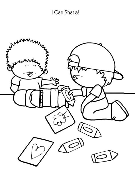 helping others coloring page kids coloring