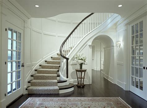 Curved Stairs Design A Bad Fiber For A Stair Runner A Difficult Staircase Laurel Home