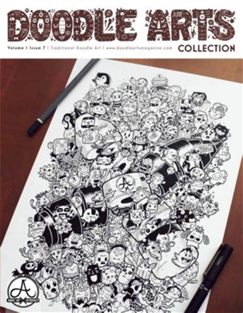 doodle enthusiast doodle arts magazine volume 1 issue 7 issue get your