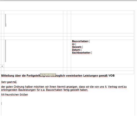 Vob Musterbriefe Für Auftraggeber Fertigstellungsmeldung Vob Vertrag Sofort