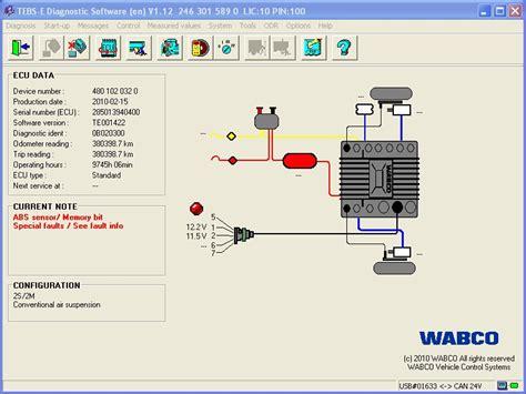 Kode Vcs2 wabco truck diagnostic tool with wabco diagnostic