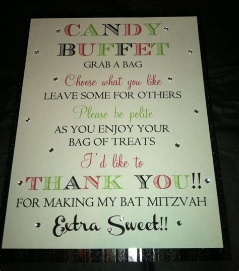 buffet sign wording how to decline a bat mitzvah by email invitations ideas