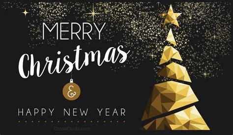 merry christmas  happy  year ecard  christmas