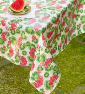 oilcloth tablecloth 52 quot x 120 quot collection accessories