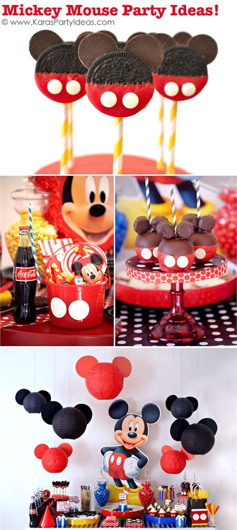 Mickey Mouse Birthday Decorations by Kara S Ideas Mickey Mouse Themed Birthday