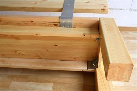 Mit Einer Lehne by Massivholz Sitzbank 160cm Mit R 252 Ckenlehne Holzbank Lehne
