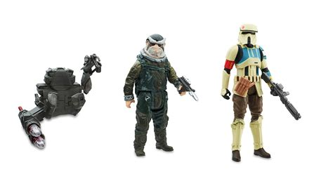 figure wars rogue one a wars story new figures by hasbro the