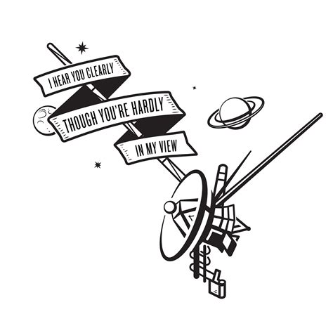 quot voyager 2 tattoo quot on behance