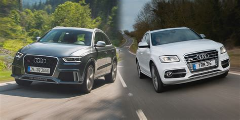 Difference Between Audi Q3 And Q5 by Audi Q3 Vs Audi Q5 Side By Side Uk Comparison Carwow