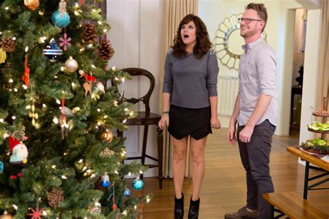 tiffani thiessen home see tiffani thiessen s home for the holidays hgtv