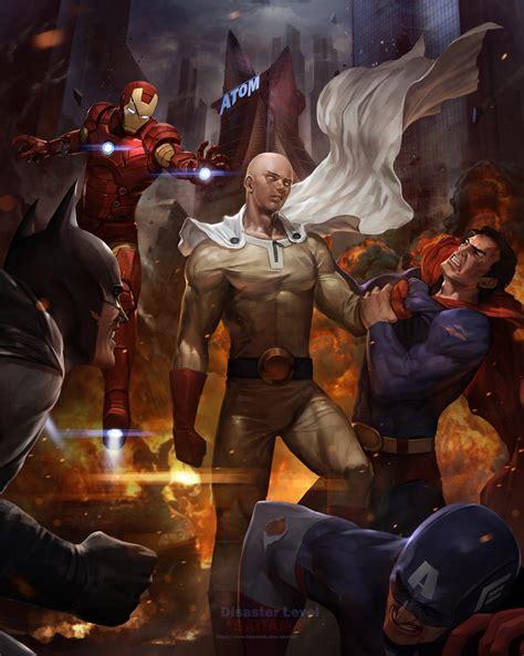 z film marvel saitama one punch man vs superman