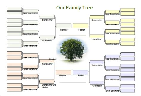printable family tree planner 31 genogram templates free word pdf psd documents