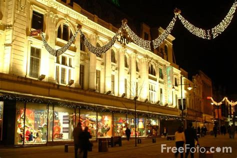 fenwick department store at christmas newcastle upon tyne