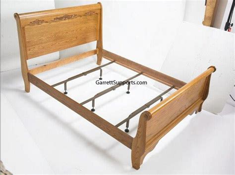 Wood Bed Frame Supports Furniture And Bed Risers Great For Dorms And Storage