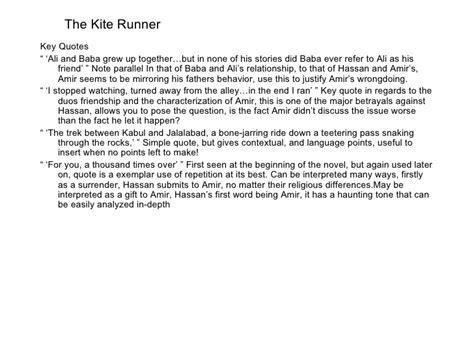 friendship themes in the kite runner the kite runner friendship essay frankensteincoursework