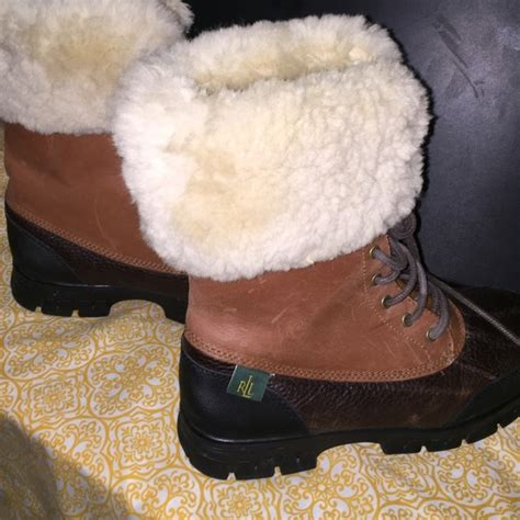 79 ralph shoes reduced polo boots with fur